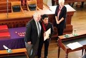 Nam sinh viên Việt Nam được tôn vinh tại Mỹ