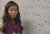 Nữ sinh gốc Việt có điểm toán cao nhất thế giới