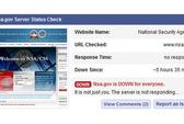 Trang web NSA bị tê liệt vì DDoS