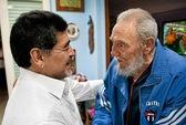 Maradona trở lại Cuba thăm Fidel Castro