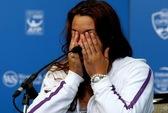Marion Bartoli bật khóc trong ngày thông báo treo vợt