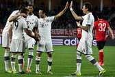 Nhà vô địch Trung Quốc thua thảm, Bayern vào chung kết