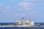 Tàu chiến Trung - Mỹ suýt va chạm trên biển Đông