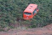 Đà Lạt: Xe buýt rơi xuống vực sâu, 1 người chết