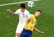 VAR tiếp sức, Thụy Điển thắng Hàn Quốc nhẹ nhàng