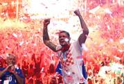 Croatia được chào đón như người hùng tại quê nhà
