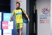 Ngôi sao cầu lông Lee Chong Wei bị ung thư mũi