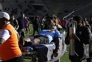 Clip: Trọng tài Bolivia đột tử sau 2 cơn đau tim
