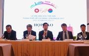 """Nhiều hoạt động phong phú trong """"Lễ hội Văn hóa thế giới TP HCM - Gyeongju"""" 2017"""