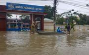 Lũ lớn, hàng ngàn ngôi nhà ở Bình Định lại bị ngập nặng
