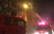 Cháy lớn quán karaoke trong đêm, khách hát tán loạn chạy thóat thân