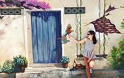 Ngôi làng bích họa đẹp mộng mơ ở Quảng Bình
