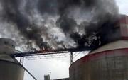 Cháy lớn ở Nhà máy Xi măng Xuân Thành Quảng Nam
