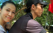 """Vợ Phạm Anh Khoa: """"Trong tâm bão lại bình yên"""""""