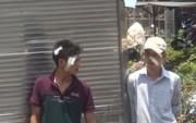 Hỗn chiến sau vụ va chạm giữa 2 ô tô trên đường Trường Chinh