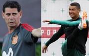 Tây Ban Nha - Bồ Đào Nha: Trận đấu của Hierro và Ronaldo