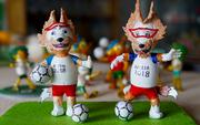 Người thổi hồn biến vỏ trứng thành linh vật World Cup 2018