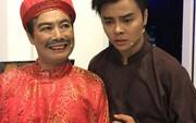 """Nghệ sĩ Võ Minh Lâm xúc động hội ngộ cha trên sân khấu """"Hòn vọng phu"""""""