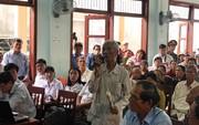 """Quảng Ngãi: Dân """"vây"""" lãnh đạo huyện sau buổi đối thoại về ô nhiễm môi trường"""