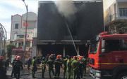 """Cháy dữ dội tại ngôi nhà liên quan đến đất công sản dính vụ án Vũ """"nhôm"""""""