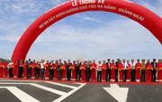 Thông xe, chưa thu phí cao tốc Đà Nẵng – Quảng Ngãi