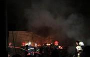 Kho phế liệu cháy đêm tới sáng, cảnh sát Quảng Nam, Đà Nẵng cùng dập lửa