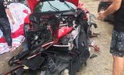 Công an bàn giao siêu xe Ferrari 488 bị tai nạn cho ca sĩ Tuấn Hưng
