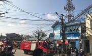 """Cháy trung tâm viễn thông, mạng 3 huyện """"thất thủ"""""""