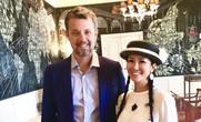 """Diva Hồng Nhung """"hẹn hò"""" Hoàng thái tử Đan Mạch tuổi 50"""