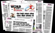 Đón đọc Tin nhanh World Cup 2018
