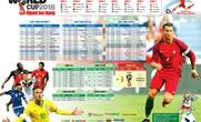 Báo Người Lao Động phát hành lịch thi đấu World Cup 2018