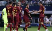 Thua ngược trong 8 phút, Barcelona ôm hận trước cựu thù Roma