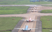 Khắc phục xong sự cố mất điện đường lăn sân bay Tân Sơn Nhất