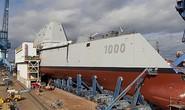 Tàu khu trục lớn nhất của Mỹ sắp hạ thủy