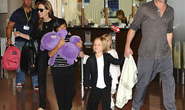 Angelina Jolie - Brad Pitt mua sắm hàng giảm giá