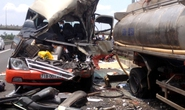 Tai nạn thảm khốc trên đường cao tốc Trung Lương, 5 người tử vong