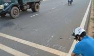 Tông chết người còn lùi xe cán thi thể nạn nhân