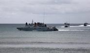 Tàu chiến Malaysia dạt vào quần đảo Trường Sa