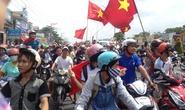 Hơn 1.000 công nhân diễu hành phản đối Trung Quốc