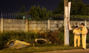 2 vụ tự gây tai nạn trong đêm, 1 người chết, 2 người bị thương