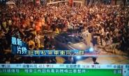 Hồng Kông: Xe lao như bay giữa đám đông biểu tình