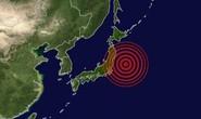 Nhật: Động đất mạnh gây sóng thần ở Fukushima