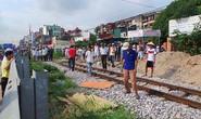 Hà Nội: Tàu hỏa tông chết người phụ nữ giúp việc lơ ngơ qua đường sắt