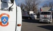 106 xe tải Nga đến miền Đông Ukraine trái phép