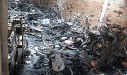 Cháy kho tiệm cầm đồ, 60 xe gắn máy cháy rụi
