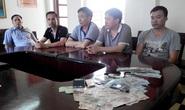 Đột kích khách sạn lớn nhất Hà Tĩnh, bắt 5 đại gia đánh bạc