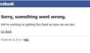 Facebook gặp sự cố, cộng đồng mạng náo loạn