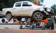 Lái xe tông CSGT ở bản có nhiều trùm ma túy trên đất Lào