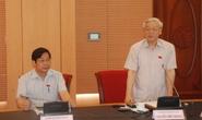 Tổng Bí thư Nguyễn Phú Trọng: Khối anh sợ lấy phiếu tín nhiệm!