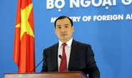 Người phát ngôn Bộ Ngoại giao Việt Nam họp báo quốc tế